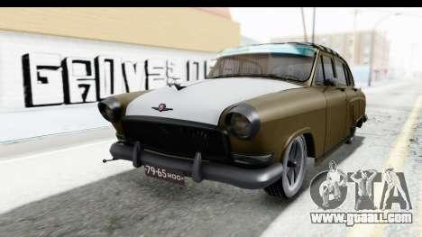 GAZ-21 Hamann H22 for GTA San Andreas