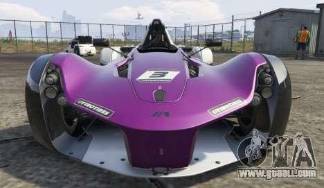 GTA 5 BAC Mono back view