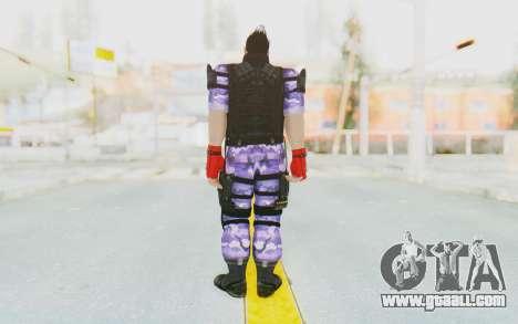 Kazuya Mishima (Ops Suit) for GTA San Andreas third screenshot