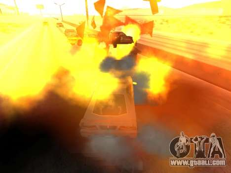 Blast machines for GTA San Andreas third screenshot