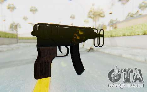 VZ-61 Skorpion Fold Stock for GTA San Andreas second screenshot