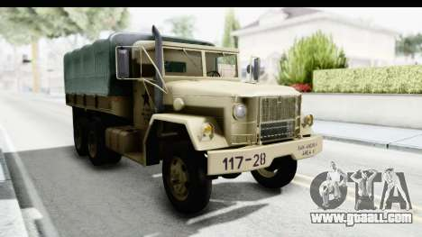 AM General M35A2 Sand for GTA San Andreas right view