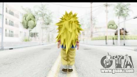 Dragon Ball Xenoverse Goku GT Adult SSJ3 for GTA San Andreas third screenshot