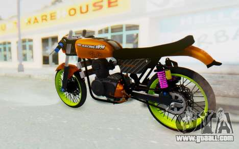 Honda CG125 Roadrace for GTA San Andreas left view