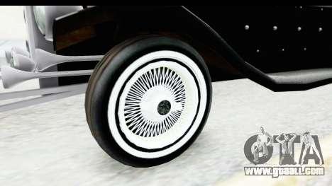 Unique V16 Phaeton VIP for GTA San Andreas back view