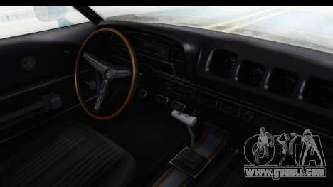 Mercury Cyclone Spoiler 1970 for GTA San Andreas inner view