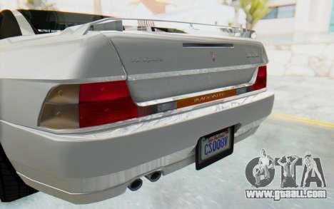 GTA 5 Imponte DF8-90 for GTA San Andreas inner view