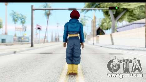 Dragon Ball Xenoverse Future Trunks SSG for GTA San Andreas third screenshot