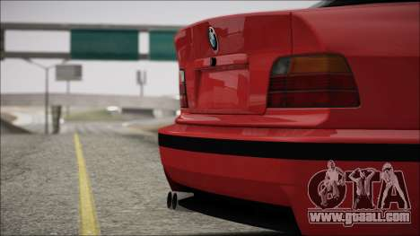 BMW E36 Stance for GTA San Andreas side view