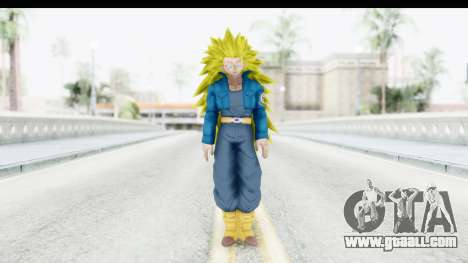 Dragon Ball Xenoverse Future Trunks SSJ3 for GTA San Andreas second screenshot