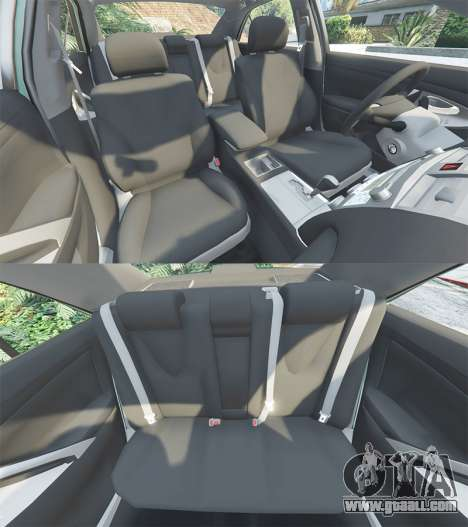 GTA 5 Toyota Camry V40 2008 [tuning] steering wheel