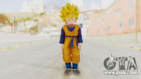 Dragon Ball Xenoverse Goten SSJ for GTA San Andreas second screenshot