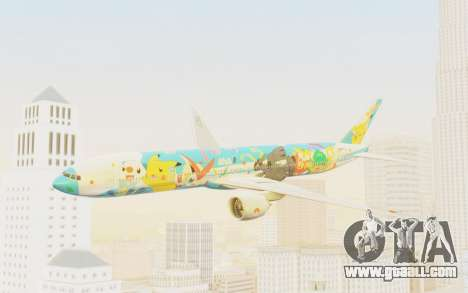 Boeing 777-300ER ANA JA754A - Peace Jet for GTA San Andreas