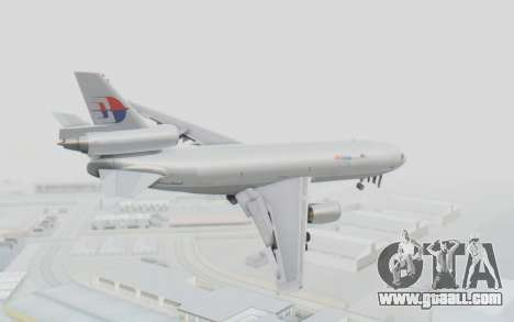 DC-10-30F MASkargo for GTA San Andreas left view
