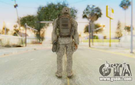 CoD MW2 Ghost Model v4 for GTA San Andreas third screenshot