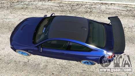 GTA 5 BMW M4 2015 v0.01 back view