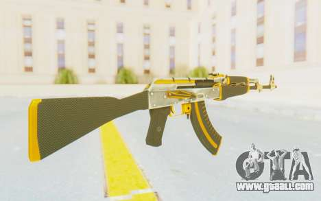 CS:GO - AK-47 Carbon Edition for GTA San Andreas second screenshot
