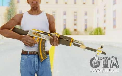 CS:GO - AK-47 Carbon Edition for GTA San Andreas third screenshot