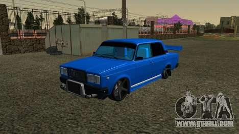 VAZ 2107 Sport for GTA San Andreas