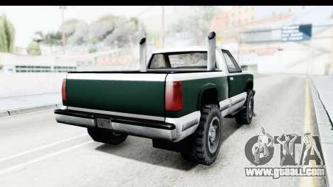 Yosemite Truck for GTA San Andreas right view