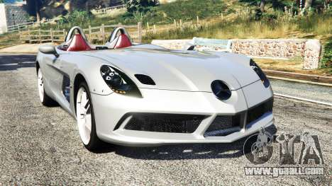 Mercedes-Benz SLR McLaren 2009 for GTA 5