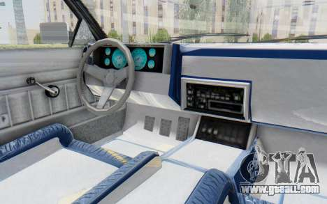 GTA 5 Willard Faction Custom Donk v2 for GTA San Andreas inner view
