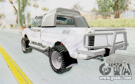 Ikco Super Peykan Pickup for GTA San Andreas left view