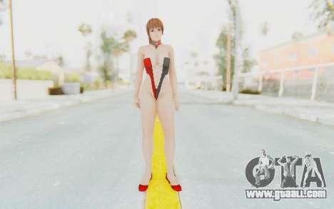 Kasumi Swimsuit for GTA San Andreas