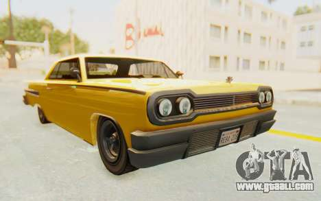 GTA 5 Declasse Voodoo PJ SA Lights for GTA San Andreas right view