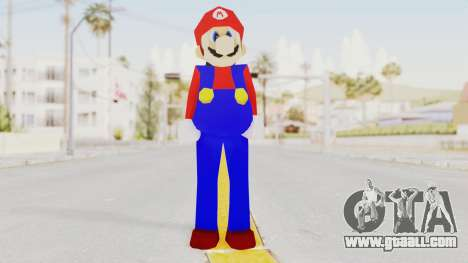 Mario for GTA San Andreas second screenshot
