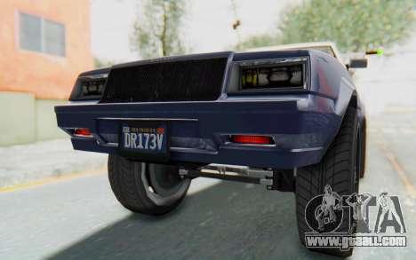 GTA 5 Willard Faction Custom Donk v3 IVF for GTA San Andreas interior