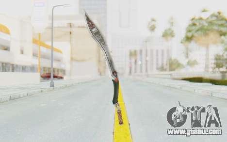 Nata Weapon for GTA San Andreas third screenshot