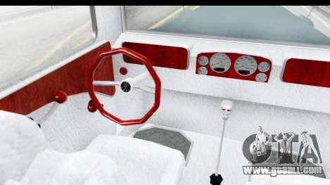 Unique V16 Fordor for GTA San Andreas inner view