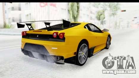 Ferrari F430 SVR for GTA San Andreas left view