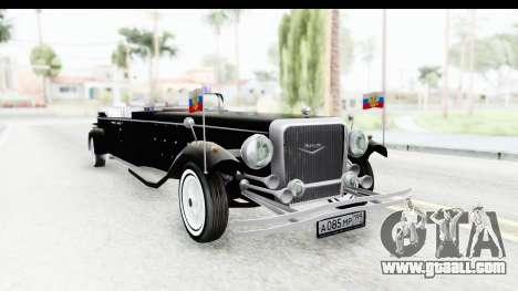 Unique V16 Phaeton VIP for GTA San Andreas
