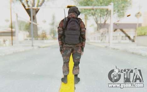 COD MW2 Russian Paratrooper v1 for GTA San Andreas third screenshot