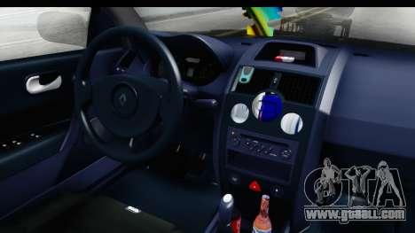 Renault Megane Sport for GTA San Andreas inner view