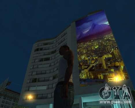 Armenia Erevan Poster for GTA San Andreas