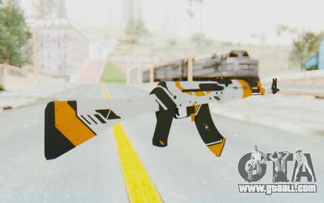 CS:GO - AK-47 Asiimov for GTA San Andreas second screenshot