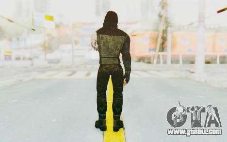 Bucky Barnes (Winter Soldier) v2 for GTA San Andreas third screenshot
