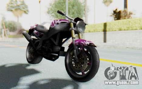 FCR-900 Custom v2 for GTA San Andreas right view