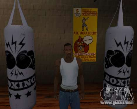 Pear Boxing for GTA San Andreas