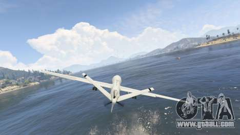 mq 9 reaper uav 1.1 for gta 5