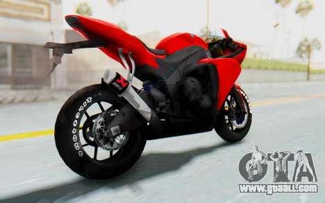 Yamaha YZF-R1 for GTA San Andreas left view