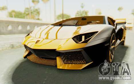 Lamborghini Aventador LP700-4 Light Tune for GTA San Andreas
