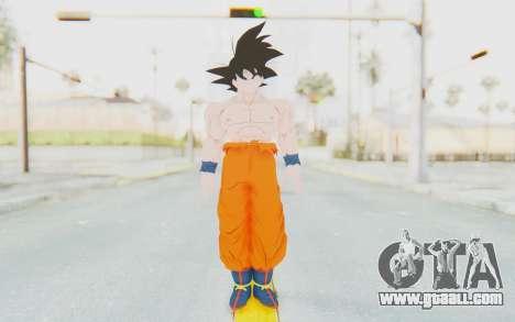 Dragon Ball Xenoverse Goku Shirtless SJ for GTA San Andreas second screenshot