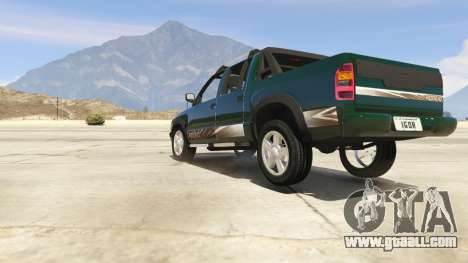 GTA 5 2011 Chevrolet S-10 Rodeio back view