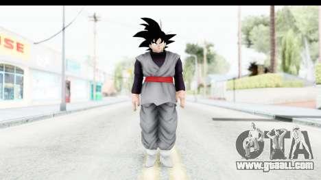 Dragon Ball Xenoverse Goku Black for GTA San Andreas second screenshot