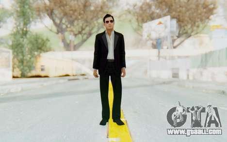 Mafia 2 - Vito Scaletta Madman Suit B&W for GTA San Andreas second screenshot