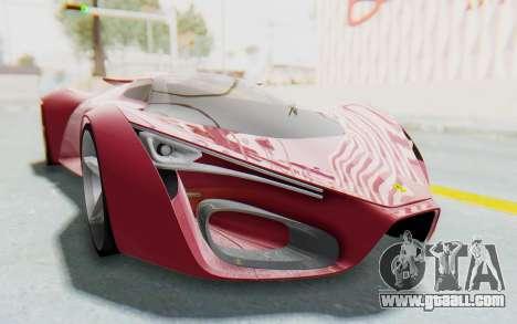 Ferrari F80 Concept for GTA San Andreas right view